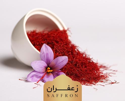 Saffron and Saffron flower